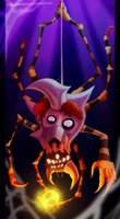 Zelda Collab - Head of the House of Skulltula by Turquoisephoenix