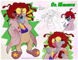 Yo-Kai Watch Fusion/OC - Dr. Maddiven by Turquoisephoenix