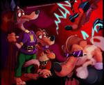 CBFD - One Big Happy Weasel Family
