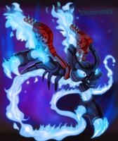Skylanders - Spitfire by Turquoisephoenix