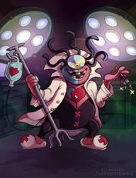 Yo-Kai Watch - Dr. Maddiman by Turquoisephoenix