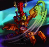 Skylanders - Awakened Dr. Krankcase by Turquoisephoenix