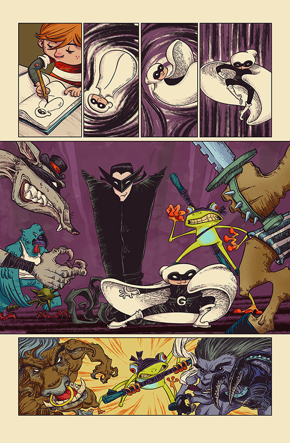 VampireMan and GhostBoy Page 2 by WhotheFuckisRemBroo