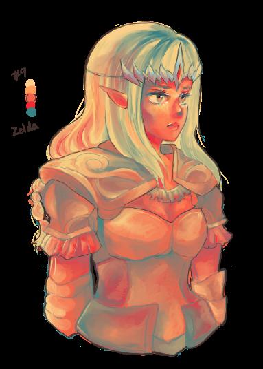 hyrule warriors zelda by Sunny-Winter-Star