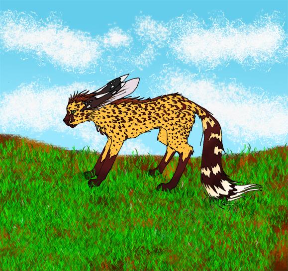 Cheetah-Rabbit-Fox ... thing by Elisetheris