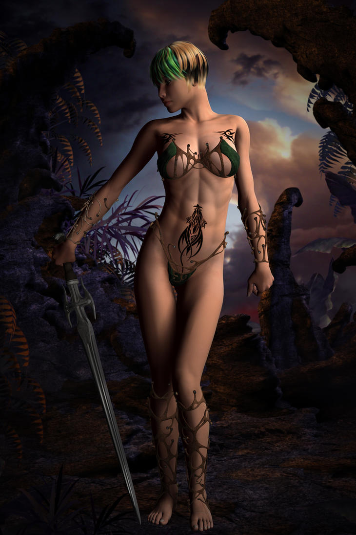 3d fantasy female homosexual elves naked pictures