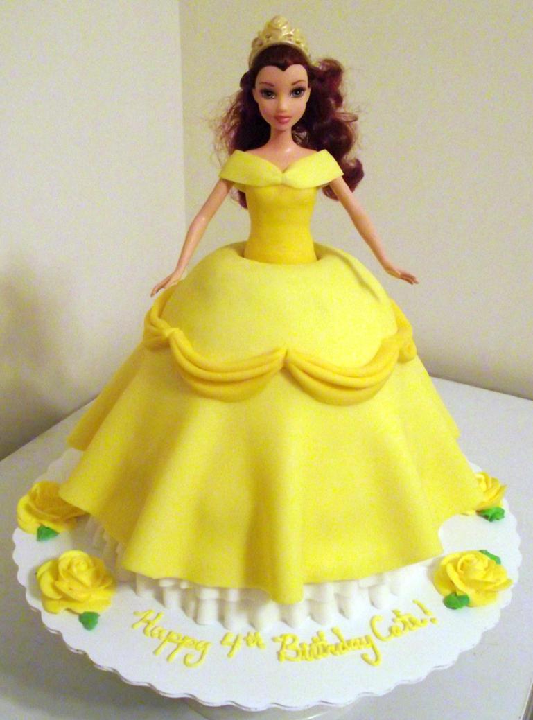 Belle Doll Cake by ayarel on DeviantArt