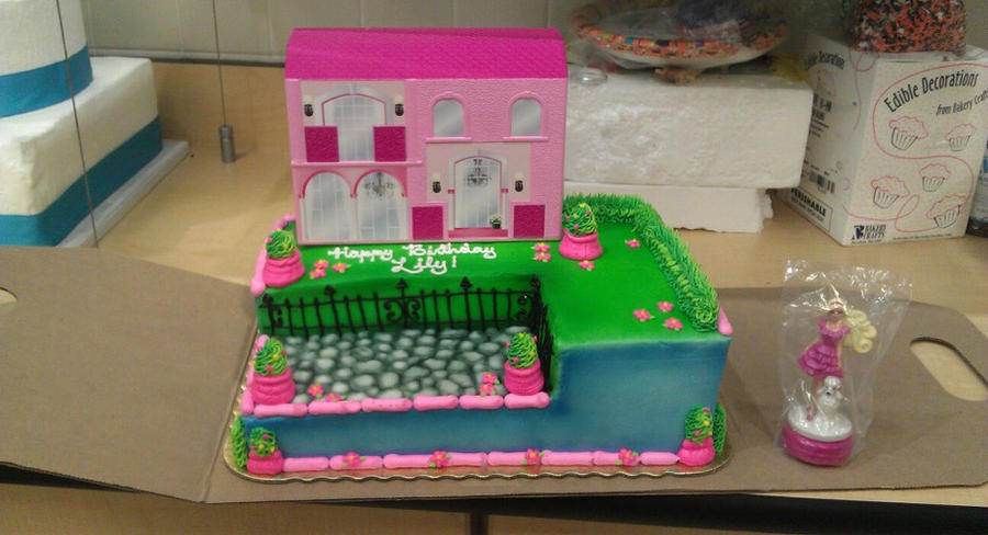 Barbie Dreamhouse Signature Cake By Ayarel On DeviantArt