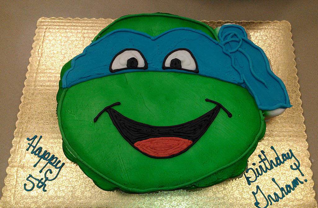 Ninja Turtle Cupcake Cake by ayarel on DeviantArt