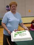 Mom's birthday cake