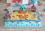 A Blue's Room birthday