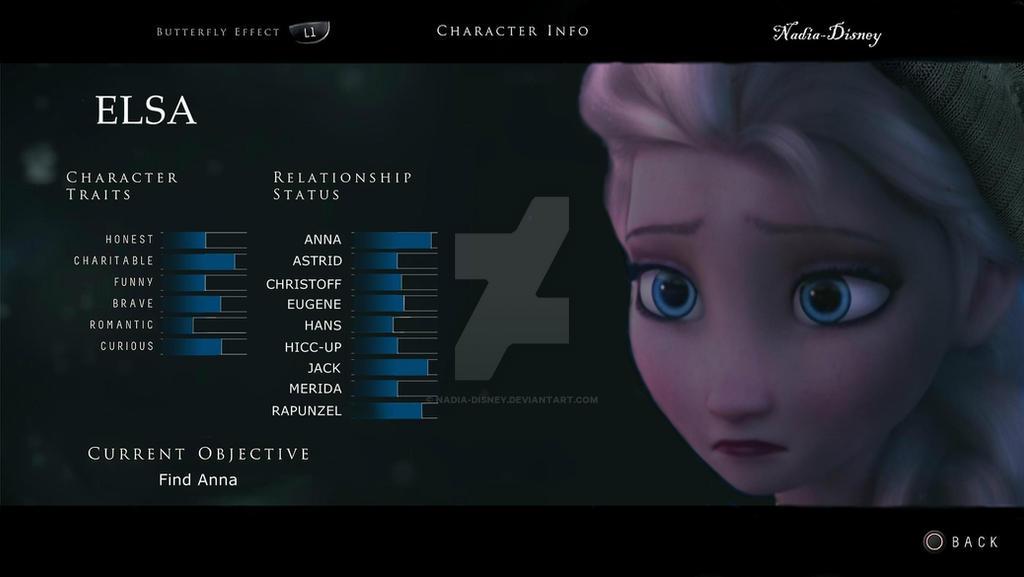 Elsa Character Traits