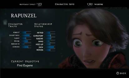 Rapunzel Character Traits