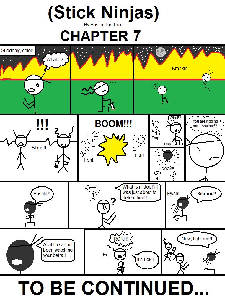 (Stick Ninjas) - Chapter 7 by Busterthefox