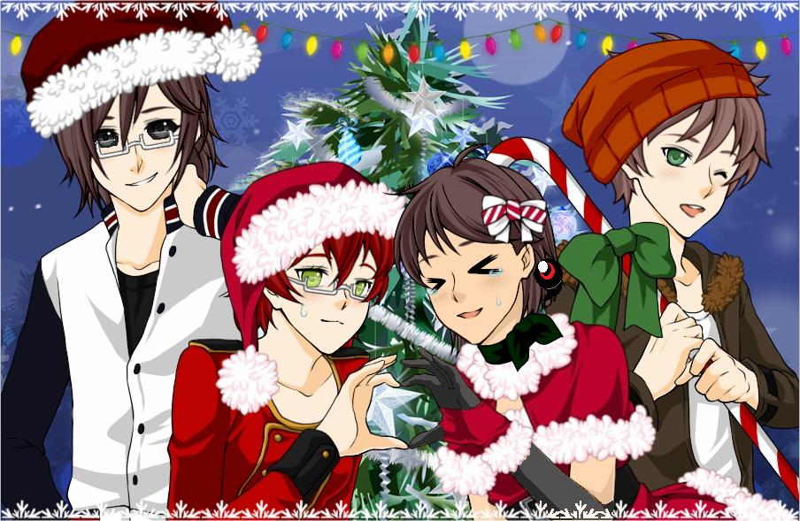 Merry CreepyPasta Christmas by Okami-O-chan on DeviantArt