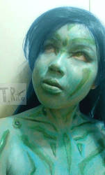 Astral body painting