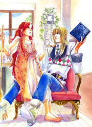 Howl and Sophie8