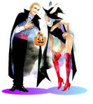 Halloween Balthier and Fran