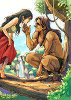Tarzan by taka0801