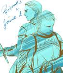 Brienne and Jaime