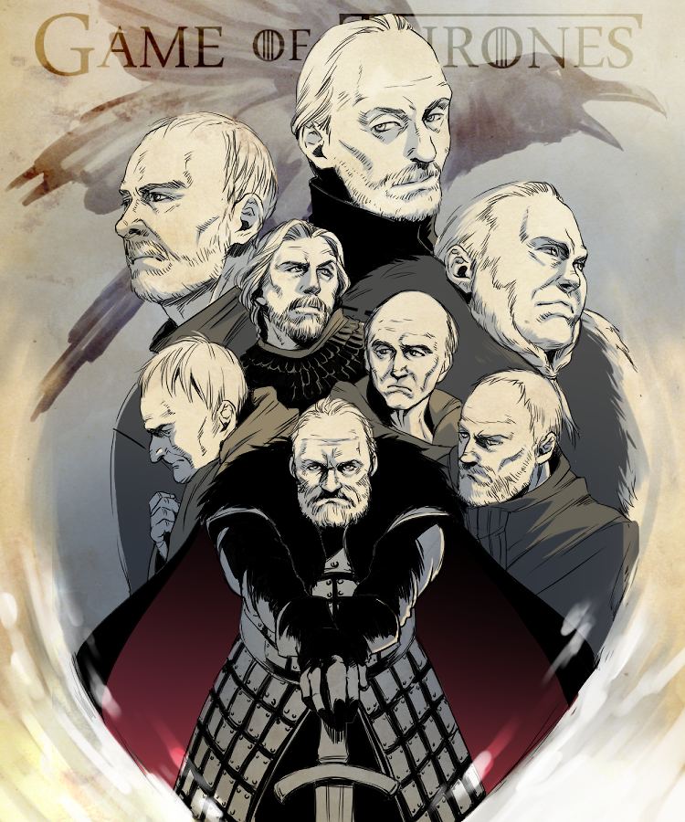 Old men of game of thrones by taka0801