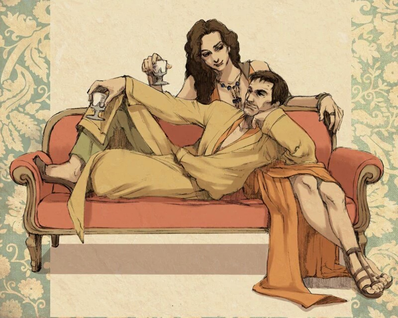 Oberyn and Ellaria by taka0801