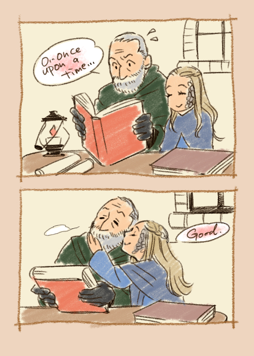 Davos and Shireen by taka0801