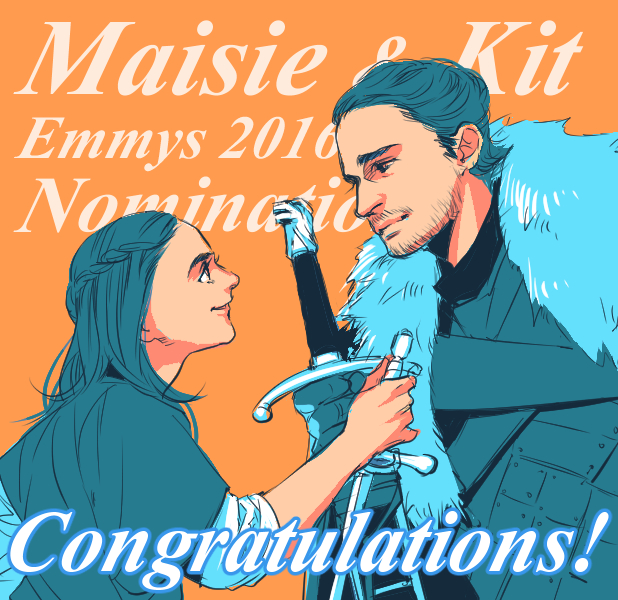 Maisie and Kit by taka0801