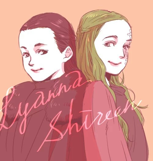 Lyanna and Shireen by taka0801