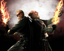 Beric Dondarion and Thoros of Myr