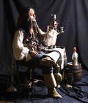 Cpt Jack Sparrow and rhum
