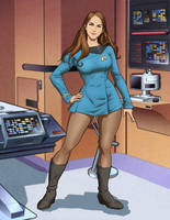Lt Commander Jacinta Tryne. USS Animus NCC-1868 by princessjazzcosplay