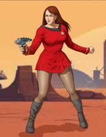 Lieutenant Reena Blackford USS Kokoda NCC-1341 by princessjazzcosplay