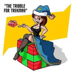 The Tribble for Trekmas by princessjazzcosplay