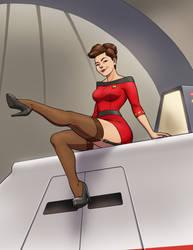 'Flying my way?' by princessjazzcosplay