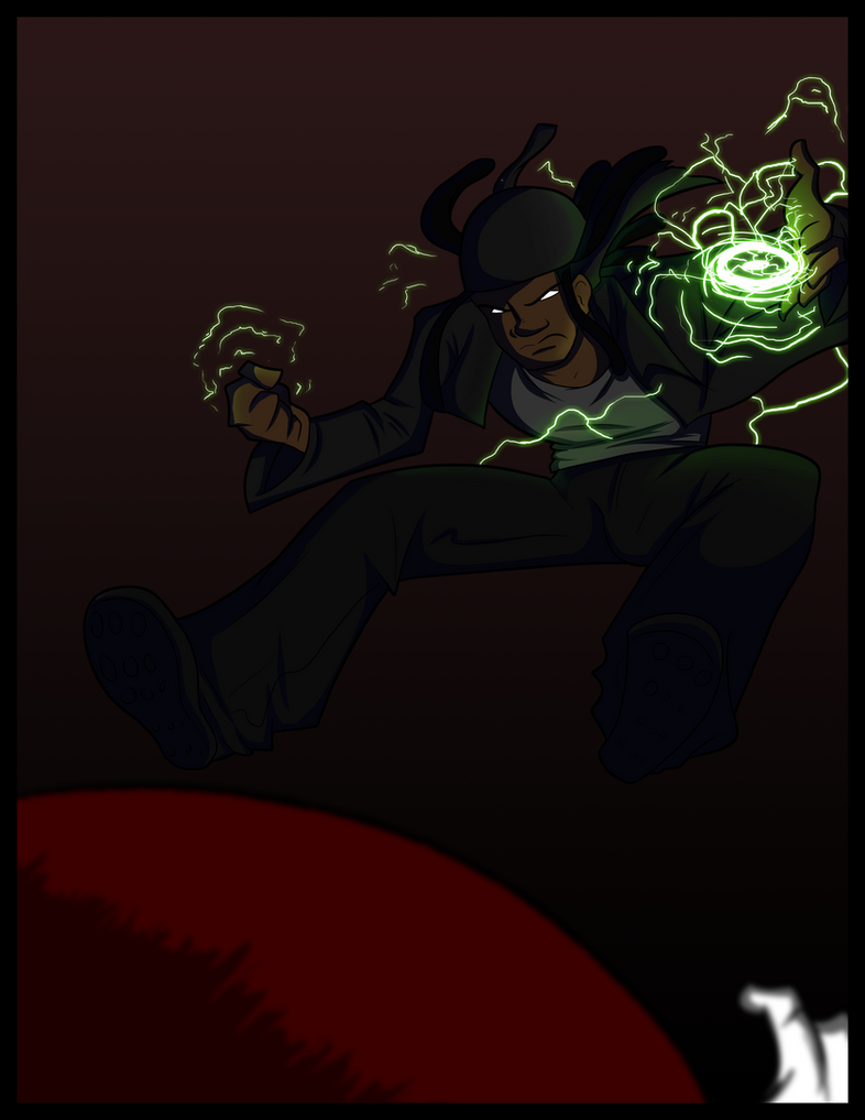 Black vs M'n'M by BlackSen