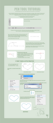 Pen tool tutorial by douce-hirondelle