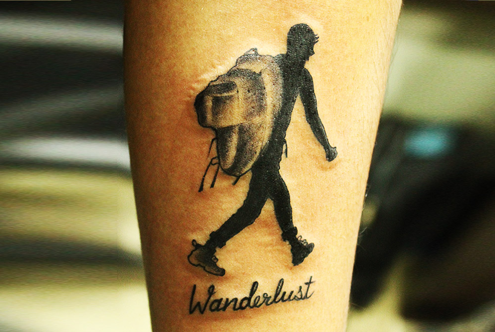 Wanderlust perfect travel tattoo by blackpoisontattoo on deviantart wanderlust perfect travel tattoo by blackpoisontattoo voltagebd Image collections