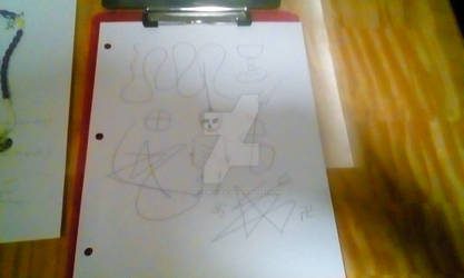 Satanic Automatic Scribbling example 2