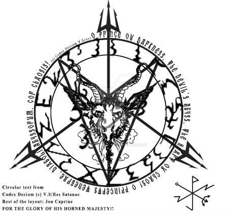 Master Thaumetian Ritual Baphomet by Jon Caprine by Jon-Capricorn-358