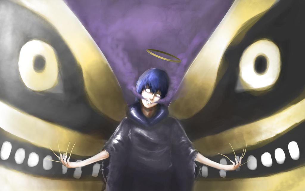 Scary butterfly by leomitsu