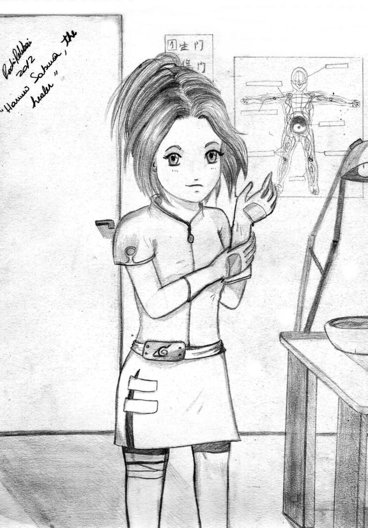 The ninja healer by RochiPelekai