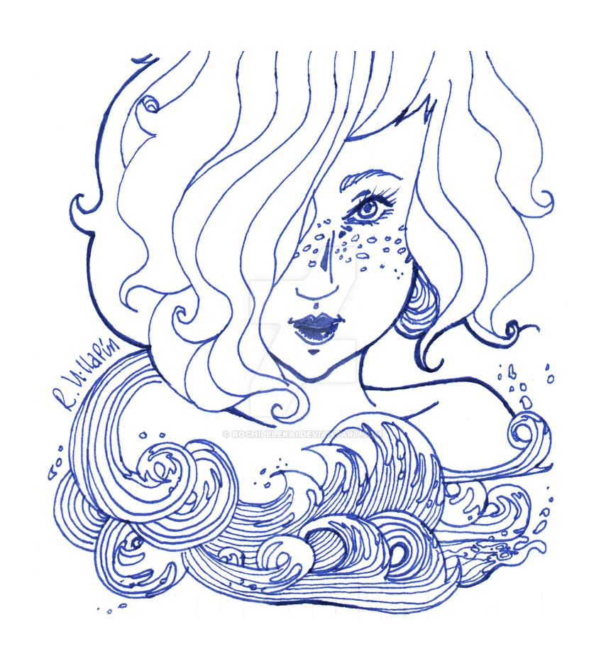Mermaid by RochiPelekai