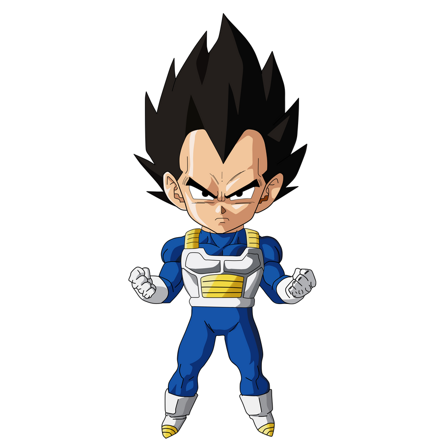 Vegeta Mini by SaoDVD