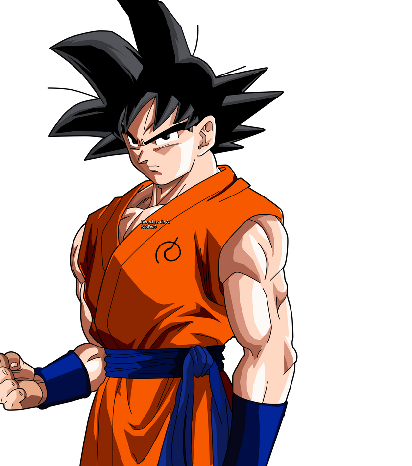 Goku 2015 Render By SaoDVD On DeviantArt