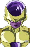 Golden Freezer- Gold Frieza by SaoDVD