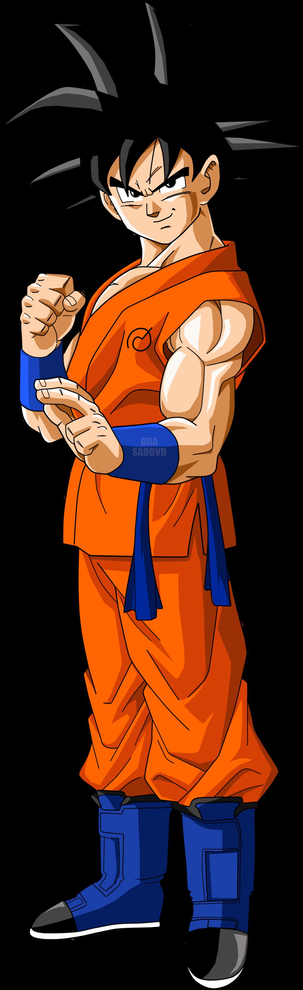 Goku fukkatsu no f by saodvd on deviantart - Son goku vegeta ...