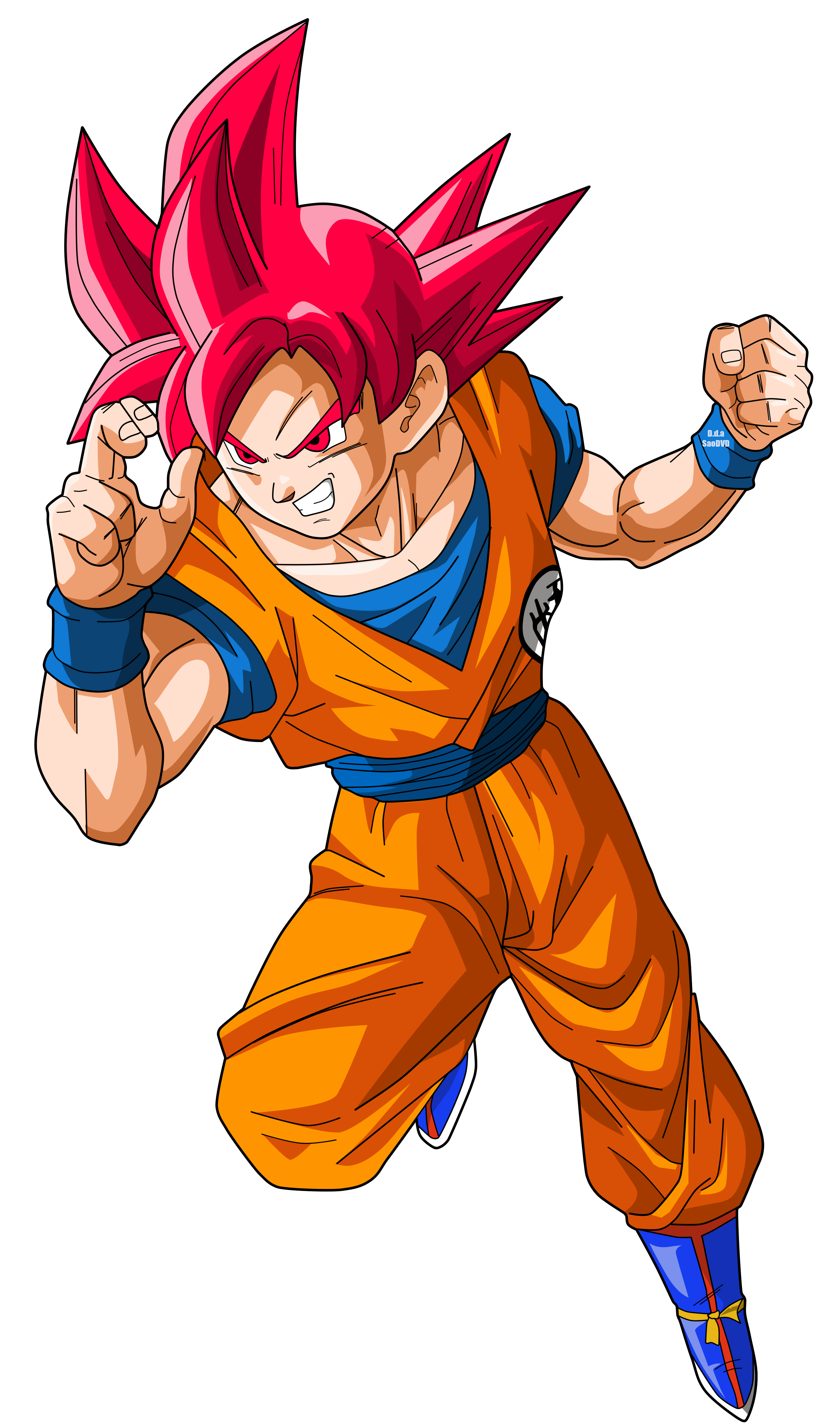 Dessin goku, Dessin, Goku