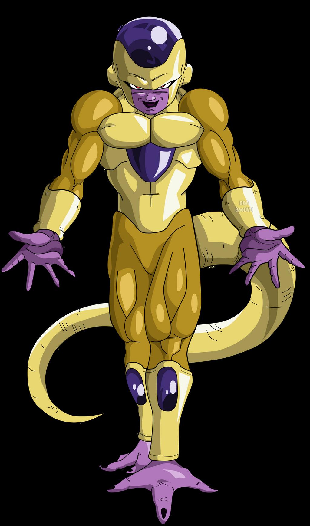 Dragon ball frieza gold welsh gold dragon