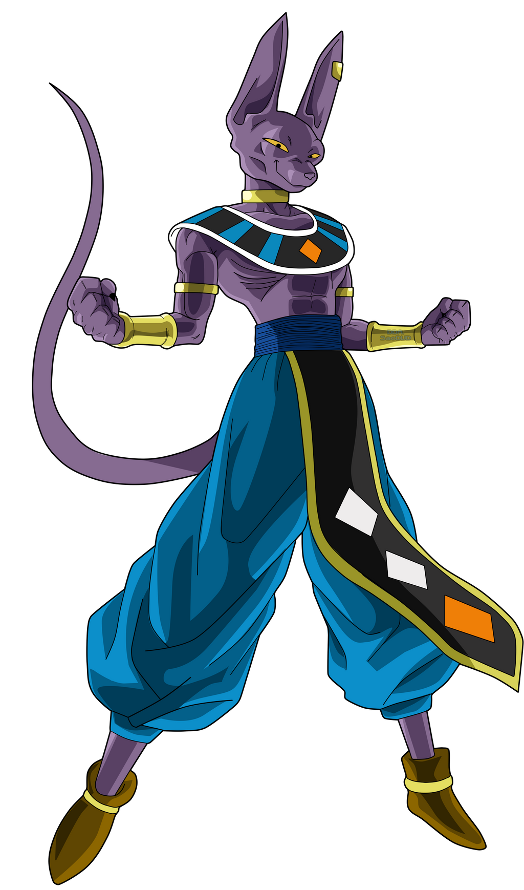 Beerus The God by SaoDVD